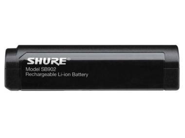SHURE SB902 BATTERIA AL LITIO RICARICABILE PER MICROFONI WIRELESS SHURE GLXD/MXW2