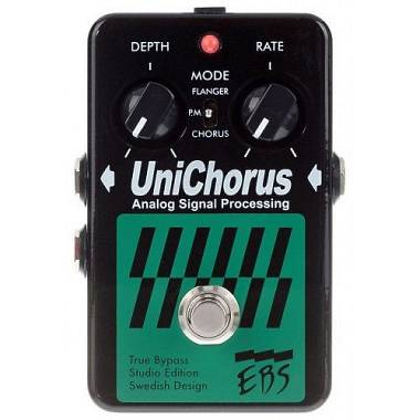 EBS UniChorus SE studio edition CHORUS/FLANGER PER BASSO e tastiera