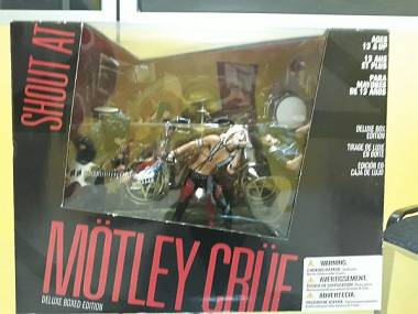 Motley Crue Action Figure Deluxe Box Set