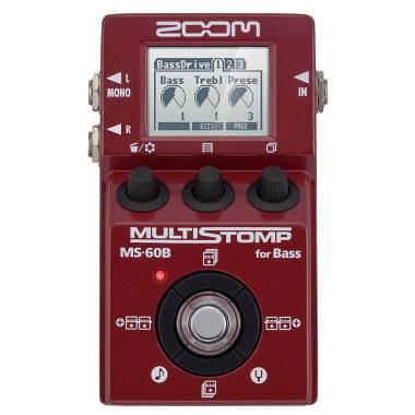 Zoom MS-60B Pedale multieffetto per basso - SPEDIZIONE GRATUITA