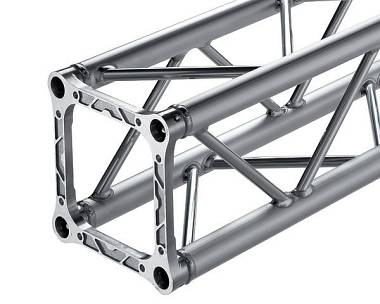 Alutek S29Q 150 - traliccio alluminio quadro 29x29 cm. lunghezza 150 cm.
