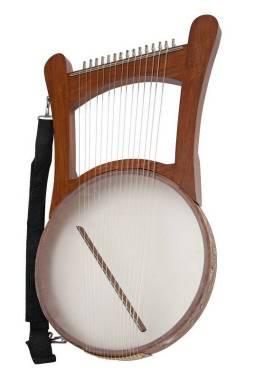 Muses NEVEL Harp 15 corde - Arpa biblica Arpa di Re Davide - in legno con custodia