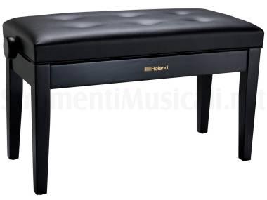 Roland Rpb-d300 Duet Bk Black - Sgabello Per Pianoforte A Due Posti Con Sedile Imbottito Nero