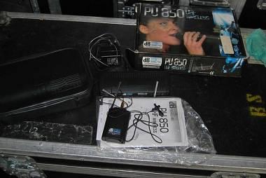 radiomicrofono a pulce DB Technologies PU 850 P