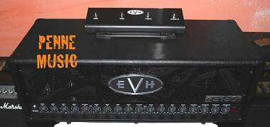 EVH 5150 III 100S HEAD STEALTH BLACK TESTATA VALVOLARE 100 WATT + FOOTSWITCH