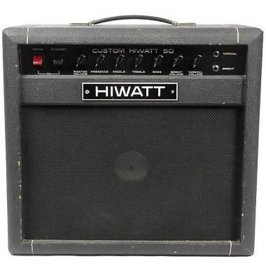 Hiwatt SA112 Custom 50 Combo Valvolare