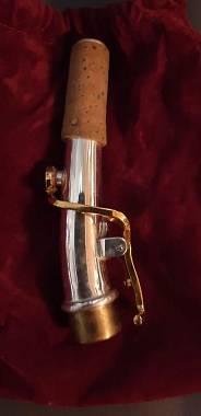 nek sax soprano  argento
