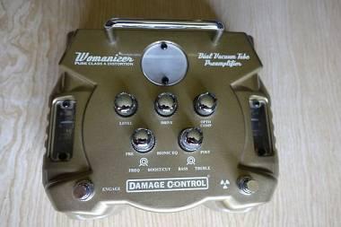 Damage Control Womanizer overdrive distorsore preamplificatore valvolare