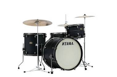 "Tama Sound Lab Project LST32TZBS shell kit ""Big Black Steel"" Matte Black LTD Ed"