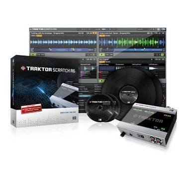 Native Instruments TRAKTOR SCRATCH AUDIO 6