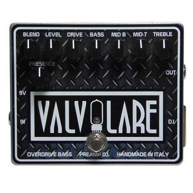 Bass D.I. Preamp Overdrive di Valvolare