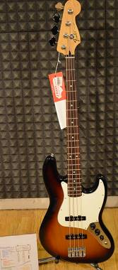 Fender JAZZ BASS STANDARD SUNBURST + BORSA FENDER. Spedito Gratis