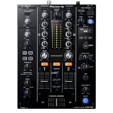 PIONEER DJM 450  2 CH EFFETTI USB