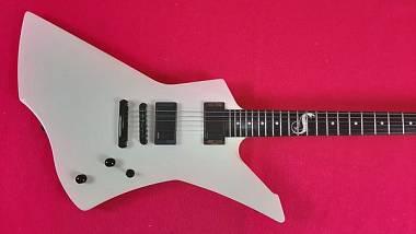 ESP Snakebyte White James Hetfield Metallica Signature Edition