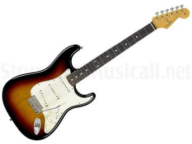 Fender Classic 60's Stratocaster Rw 3-color Sunburst B-stock - Chitarra Elettrica Sunburst