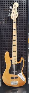 Squier Vintage Modified 70s Jazz Bass V 5 Nat