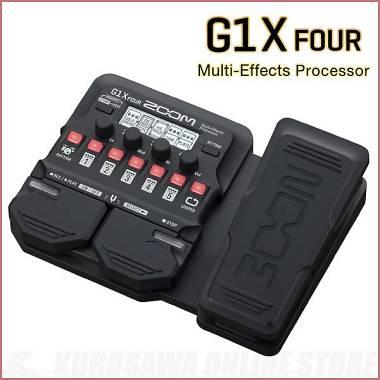 ZOOM G1X Four multieffetto per chitarra con looper / batteria/exp