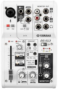 Yamaha AG03 Mixer usb con interfaccia audio