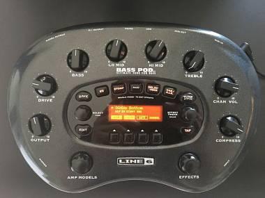 Line6 Bass POD XT