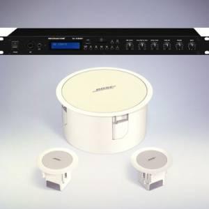 Bose Bose SI2DBAM Impianto completo 1 sub bianco da controsoffitto +2 diffusori controffitto bianchi