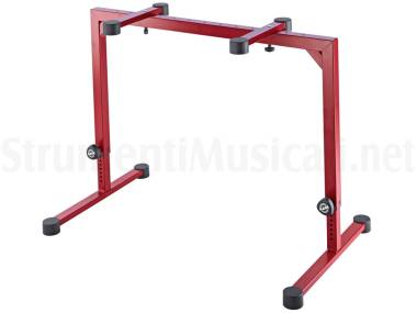 Konig & Meyer 18810 Table-style Keyboard Stand Omega Ruby Red - Supporto Per Tastiera Rosso