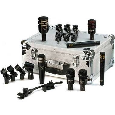"Audix Set Top di Gamma ,Kit Microfoni per batteria ""DP7"" + Valigetta."