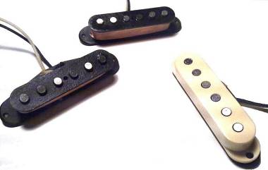 "SET PICKUPS PER FENDER STRATOCASTER ""HOT 46"""
