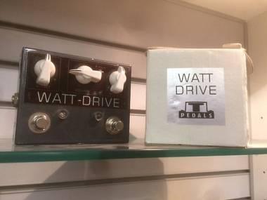 T-Pedals Watt Drive Overdrive stile VOX AC 30 OTTIME CONDIZIONI