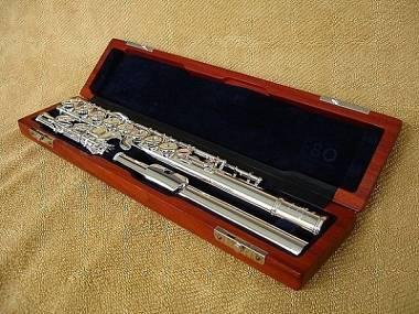 flauto Sankyo CF201 testata in argento