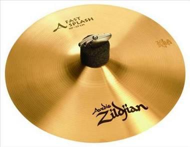 "Zildjian A Avedis Fast Splash 10"". Spedizione Inclusa"