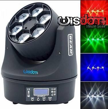 super sharpy beam led b-eye  6x15 rgbw OSRAM LED effetti multi fascio flower