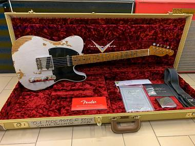 Fender Telecaster Custom Shop 51 Nocaster Relic White Blonde del 2016 NUOVA