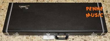 FENDER CLASSIC WOOD GUITAR CASE BLACK CUSTODIA RIGIDA MUSTANG / DUO SONIC