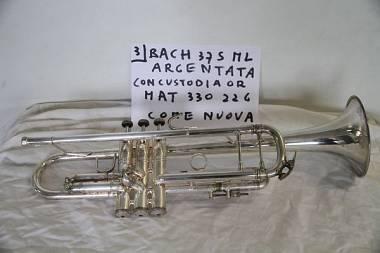 Tromba Vincent Bach Stradivarius modello 37 ml s argentata come nuova