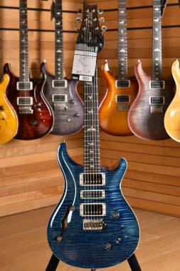 PRS Paul Reed Smith Special 22 Semi-Hollow Limited Edition Pattern Thin GEN III Tremolo 85/15 River