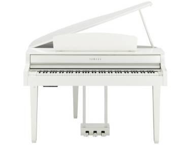 YAMAHA ClAVINOVA CLP665GP WH WHITE PIANOFORTE DIGITALE A CODA BIANCO