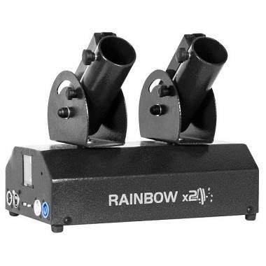 Spara coriandoli elettrico - Rainbow X 2
