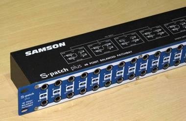 Samson S-PATCH PLUS PATCH BAY 48 punti di connessione.Spedizione Inclusa