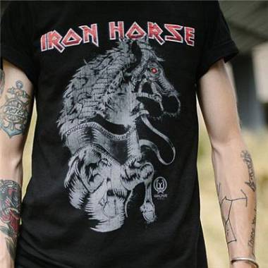 Walrus Audio Iron Horse Distortion T-Shirt Taglia M