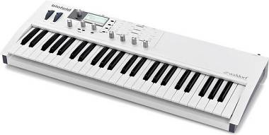 WALDORF BLOFELD KEYBOARD WHITE  SYNTH 49 TASTI
