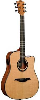 LAG Guitars T80DCE Natural
