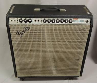 Fender Super Reverb Silverface 1970