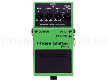 Boss Ph-3 Phase Shifter - Effetto Phaser A Pedale Per Chitarra