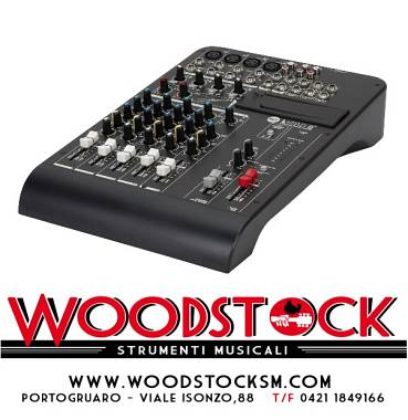 Mixer audio RCF L pad 8 c