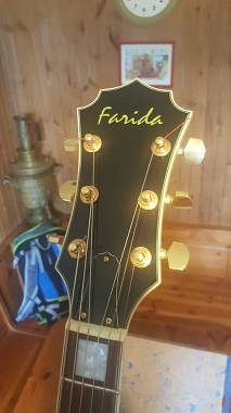 Farida Guitars Sa-16 semiacutica simil e335