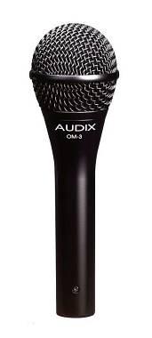 Audix Om3 Microfono dinamico ipercardioide per Voce , borsetta omaggio