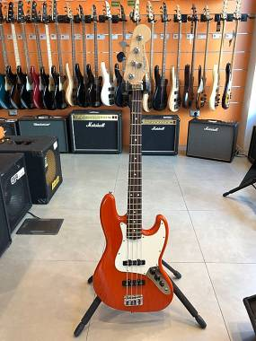 Fender Jazz Bass American Standard  Sunset Orange Trans S1 Switch