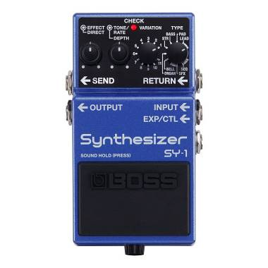 BOSS SY-1 BASS & GUITAR SYNTHESIZER DISPONIBILE SPEDIZIONE GRATIS!!!