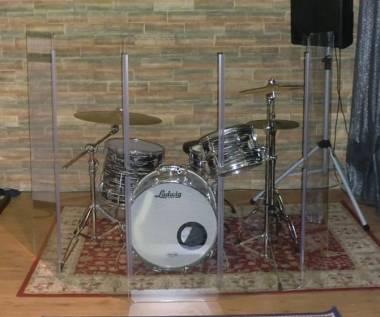 Sound Screen - Schermi per batterie e percussioni - ALTEZZA 150cm