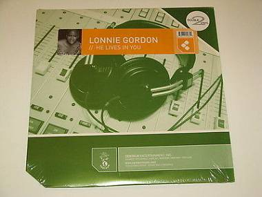 """Lonnie Gordon  He Lives In You 2 × Vinyl, 12""""  House, Tribal, Trance COME NUOVO"""